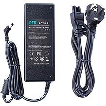 Dtk® cargador de toshiba 19V 3.95A 75W A200 A210 A300 A300D A660 L40 L300 L300D L350 L450D L500 L500D L650 L670 P200 P300 T110 T130 U300 U400 Satellite / Equium Serie Notebook Cargador y adaptador