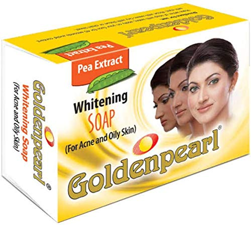 F.B.Accessories Golden Pearl Whitening Soap for Acne and Oily Skin