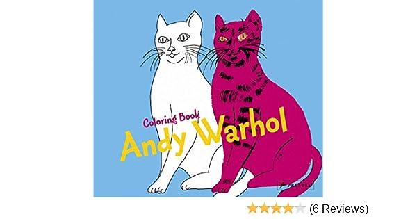 Coloring Book Andy Warhol (Colouring Books): Amazon.co.uk: Doris ...