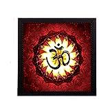 #3: eCraftIndia Holu Om Satin Matt Texture UV Art Painting