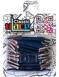 U-LACE - Lacets Bleu Roi - Royal Blue - Lacets révolutionnaires sans laçage - Parfaits pour Converse et Vans - Mixez les couleurs