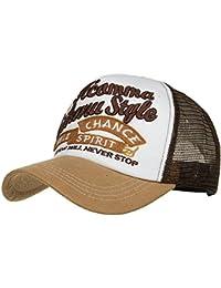 ManLJZ Cappellino da Baseball a Lettera Color cap Cappellino Ricamato  Cappelli a Rete per Uomo Donna 1c5b256072f9