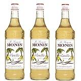 Monin Sirup Vanille, 1,0L 3er Pack