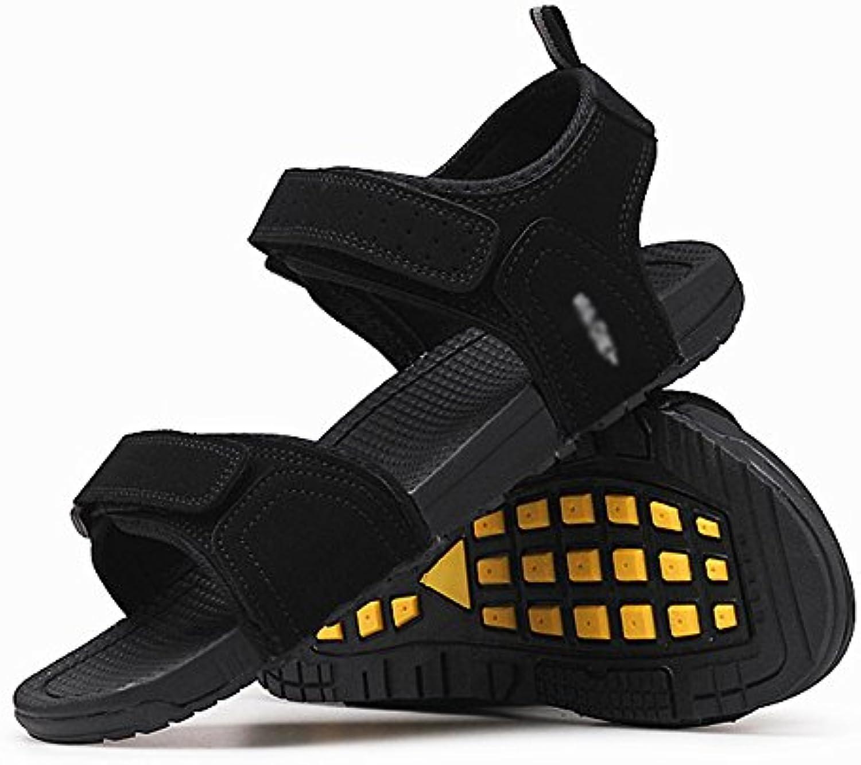 726f3cf1fece Sandali HUO Regolabili Per Uomo Casual Pantofole Pantofole Pantofole  Morbide Traspiranti Uomini Movimento All'aperto