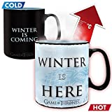 Game of Thrones - Winter is here - Farbwechsel-Tasse | Füllmenge 460 ml