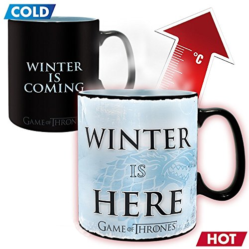Game of Thrones – Winter is here – Farbwechsel-Tasse | Füllmenge 460 ml