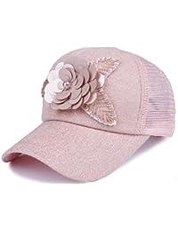 QFFL xiajibaidamaozi Sombrero Protección Solar Gorra de Malla Gorra de  béisbol Transpirable Sombrero para el Sol f8730a7cc31