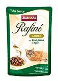 Animonda Rafine Adult Katzenfutter mit Rind, Gans und Apfel, 1er Pack (1 x 1200 g)