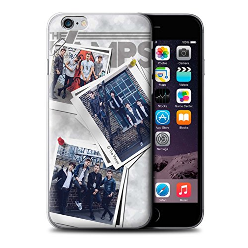 Offiziell The Vamps Hülle / Case für Apple iPhone 6S+/Plus / Pack 5Pcs Muster / The Vamps Doodle Buch Kollektion Collage