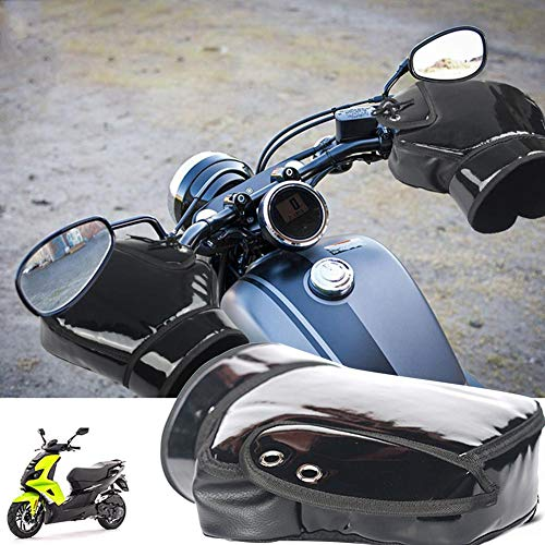 Per Manoplas Moto Invierno Impermebales Fundas Manillares