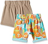 Mothercare Baby Boys' Shorts (Pack of 2) (H6377_Brigm_0-3 Months)