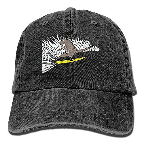 Nifdhkw 2018 Adult Fashion Cotton Denim Baseball Cap Surfing Kangaroo Classic Dad Hat Adjustable Plain Cap Unisex35