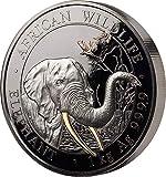 Power Coin Elephant Elefant Golden Enigma 1 Kg Silber Münze 2000 Shillings Somalia 2018