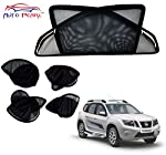 Product Overview: Brand: Auto Pearl With Zipper for Driver and Co-Driver - To increase ease of use. Material: Nylon Polyester Mesh with Metallic Frame Embedded with Magnets Color: Black Dimensions: Customized as per vehicle Mount type: Magnetic - Cli...