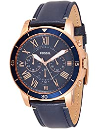 Fossil Analog Blue Dial Men's Watch - FS5237
