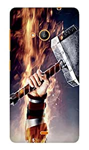 Microsoft Lumia 535 Printed HARD Back Cover Sublimation High Quality Case By DRaX®