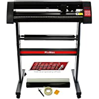 "PixMax Vinyl Cutter Plotter Machine 28"", SignCut Pro Design Software & Weeding Pack, Black"