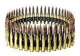 Gürtel als MG Patronengurt, M60 Maschinengewehr-Munition