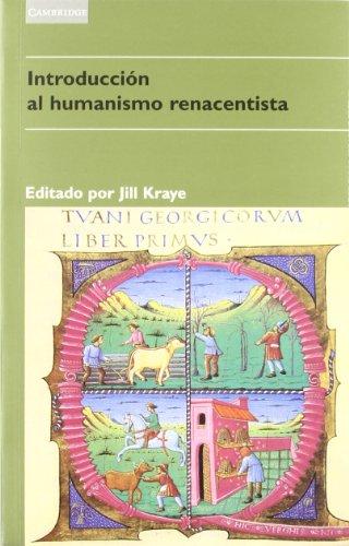 Introducción al humanismo renacentista (Literatura) por Jill Kraye