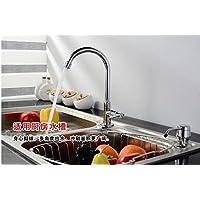 SBWYLT-Aprire rapidamente freddo singolo bacino rubinetti lavello da cucina monoforo lavabo bacino rubinetto rame piombo moderno