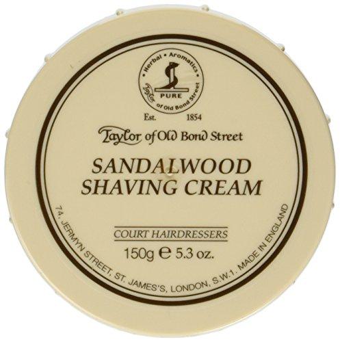 Taylor of Old Bond Street Taylor of Old Bond Street Sandalwood Shaving Cream Bowl, 5.3 Ounce