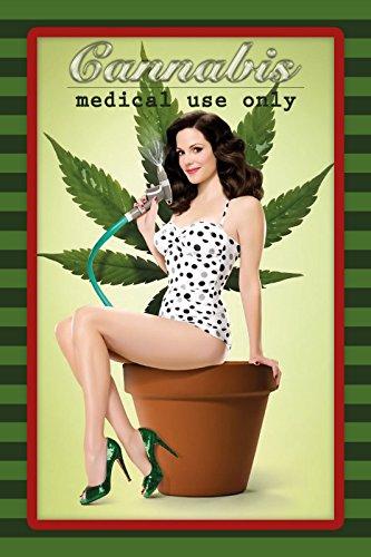 Cannabis - Medical Use only blechschild, tin sign, geschenk