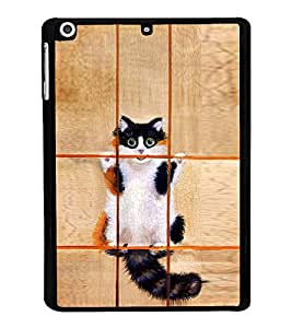 Cat in Jail Back Case Cover for APPLE IPAD AIR MINI 3