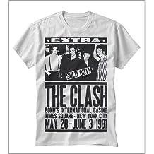 T-shirt uomo-donna CLASH The concert