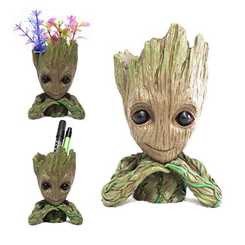 XUNKE Blumentopf, Pflanztopf blumentöpfe / Stiftehalter, Groß Aquarium Deko Figur, Geschenke für Kinder