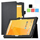 Acer Iconia One 10 B3-A20 Case - IVSO Slim-Book Stand Cover Case for Acer Iconia One 10 B3-A20 10.1-Inch Tablet (Black)