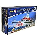 Revell Modellbausatz Schiff 1:72 - Seenotkreuzer BERLIN im Maßstab 1:72, Level 4, originalgetreue Nachbildung mit vielen Details, 05211