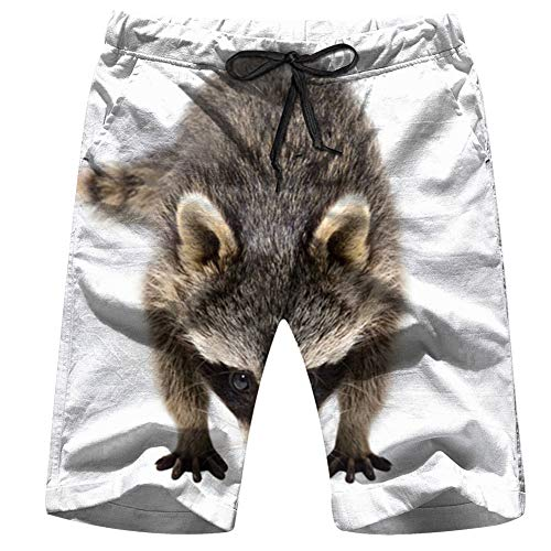Men's Swim Trunks Leopard Animal Wild Print Animals Africa Quick Dry Beach Wear Shorts Swimwear with Pockets,XXL (Swim Trunks Schädel)