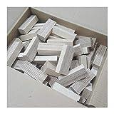 AUPROTEC Natur Holz-Bausteine Birke Länge 80mm Breite 10-30mm Stärken gemischt 18-30mm Multiplex Sperrholz Profiqualität auch als Kreativ Spiel + Bastelhölzer Holz-Bauklötze