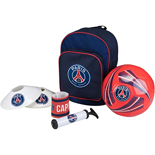 Ballon + Tasche + Pumpe + Cones + Sportarmband PSG – offizielle Kollektion PARIS SAINT GERMAIN