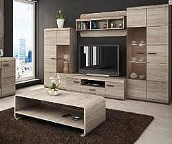 LUKA - Modern set - TV Table - Entertainment Unit - TV stand - Living Room Furniture Set