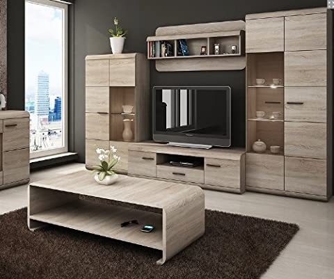 LUKA - Modern set - TV Table - Entertainment Unit - TV stand - Living Room Furniture Set