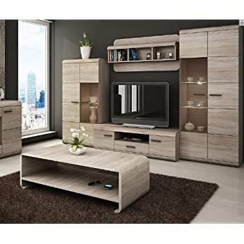 luka modern set tv table entertainment unit tv. Black Bedroom Furniture Sets. Home Design Ideas