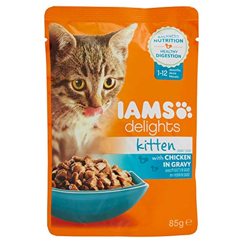 Iams Cat Buste Kitten 1 X 85 GR