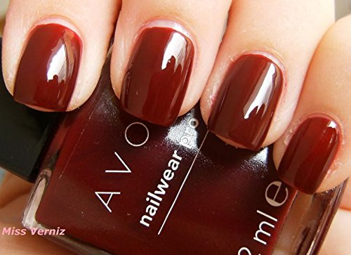 AVON GEL FINISH NAIL ENAMEL NAIL POLISH 8ML (WINE AND DINE ME)