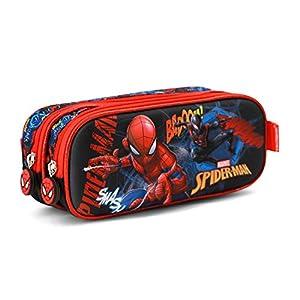 Karactermania 37095 Spiderman Smash Estuches, 22 cm, Azul