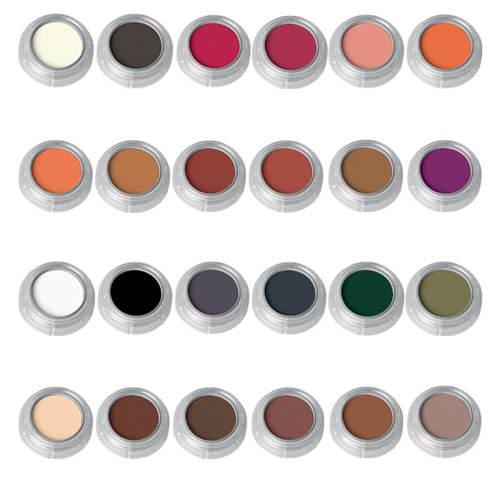 Rouge-/Lidschattenpalette RK mit 24 Farben