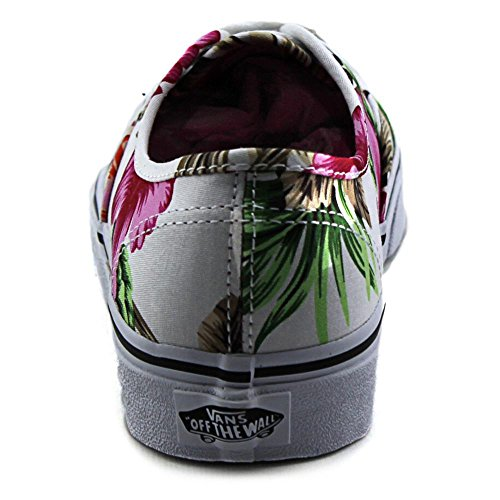 Vans Unisex-Erwachsene U Authentic High-Top Weiß (Hawaiian Floral)