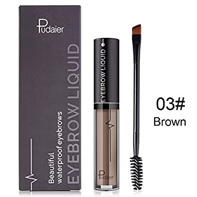 ROMANTIC BEAR Waterproof not Fade Eyebrow Liquid with Brush by ROMANTIC BEAR