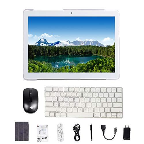 tablet android 7.0 da 10 pollici con processore quad-core wifi navigazione bluetooth 4 gb di ram 64 gb di memoria dual sim 3g è anche un cellulare