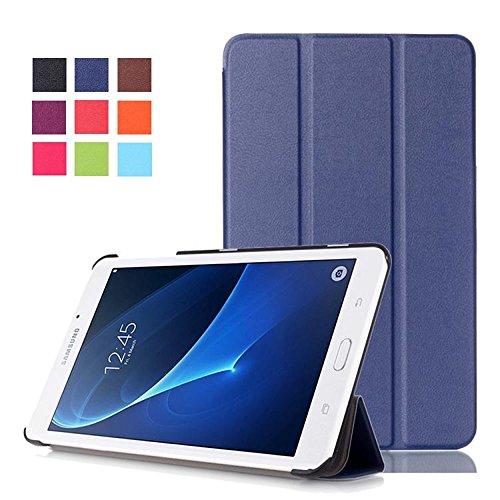 """DETUOSI Coque Compatible avec Samsung Galaxy Tab A 7.0""""- Housse de Protection Flip Cover Case pour Samsung Galaxy Tab A 7.0 Pouces 2016 (SM-T280 SM-T285) PU Cuir Etui Coque Pochette"""
