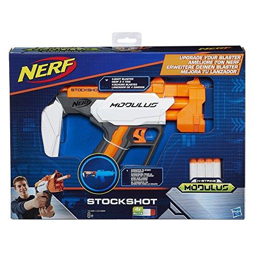Preisvergleich Produktbild Hasbro Nerf C0391ES0 - N-Strike Modulus Stockshot, Spielzeugblaster