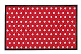 YOUNG GENERATION Shoe-Max YH 101539 W Everclean Fussmatte Lust for Live 44 x 75 cm, carmine/hell grau