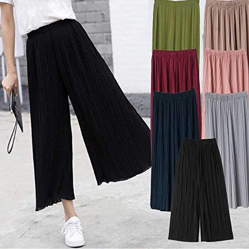 Comaie Pantalones de Gasa para Mujer