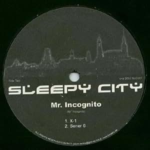 Mr. Incognito - Manoxa - Sleepy City - SLC001