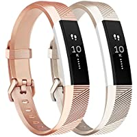 Tobfit For Fitbit Alta HR Strap, Adjustable Replacement Soft Sport Straps for Fitbit Alta HR and Fitbit Alta (NO Tracker)